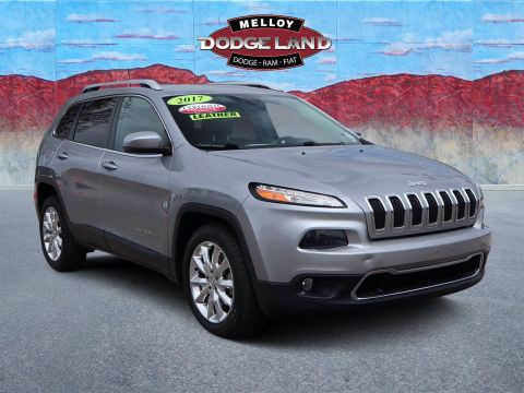 Certified Pre-Owned 2017 Jeep Cherokee Limited FWD 4D Sport Utility for sale in Albuquerque NM
