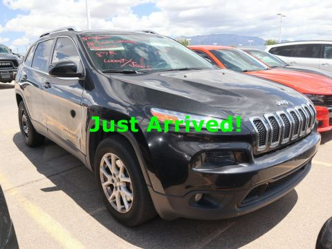 Pre-Owned 2014 Jeep Cherokee Latitude 4WD 4D Sport Utility for sale in Albuquerque NM
