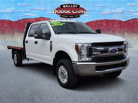 Pre-Owned 2018 Ford F-350SD XLT 4WD 4D Crew Cab for sale in Albuquerque NM