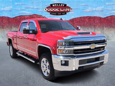 Pre-Owned 2019 Chevrolet Silverado 2500HD LTZ 4WD 4D Crew Cab for sale in Albuquerque NM