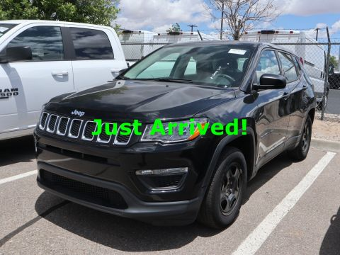 Certified Pre-Owned 2019 Jeep Compass Sport FWD 4D Sport Utility for sale in Albuquerque NM