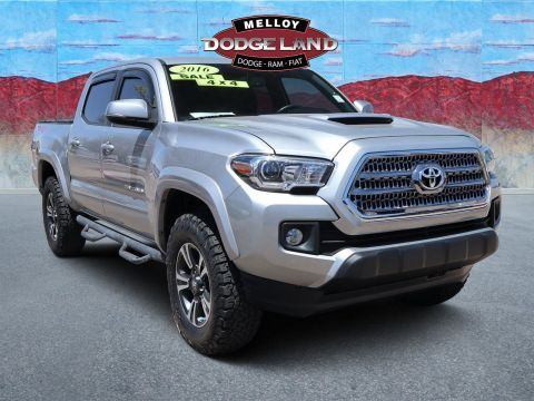 Pre-Owned 2016 Toyota Tacoma TRD Sport 4WD 4D Double Cab for sale in Albuquerque NM